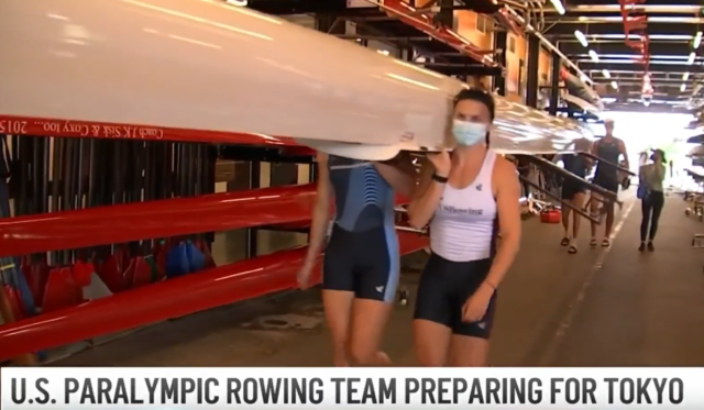 After Training in Boston, US Rowing Team Ready for Tokyo Paralympics